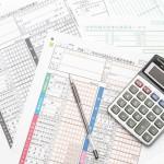 税金に関連した書類