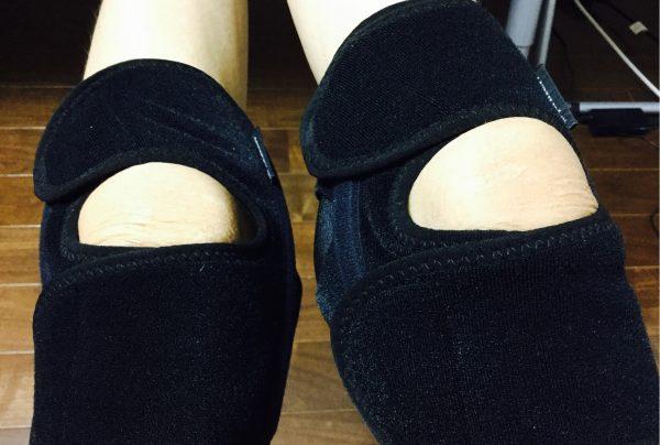 膝のサポーター(両足)