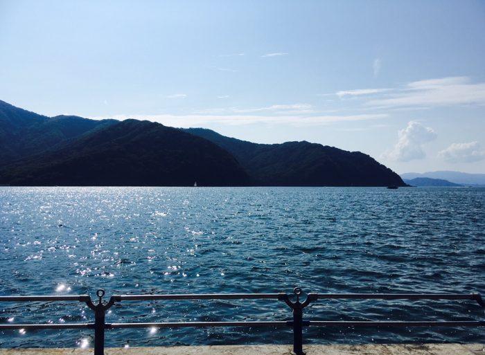 舞鶴親海公園からの景色