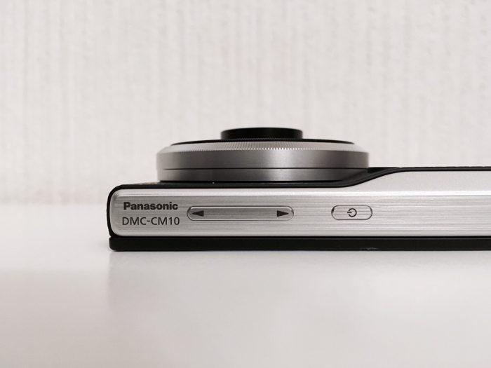LUMIC DMC-CM10の撮影時のレンズの状態