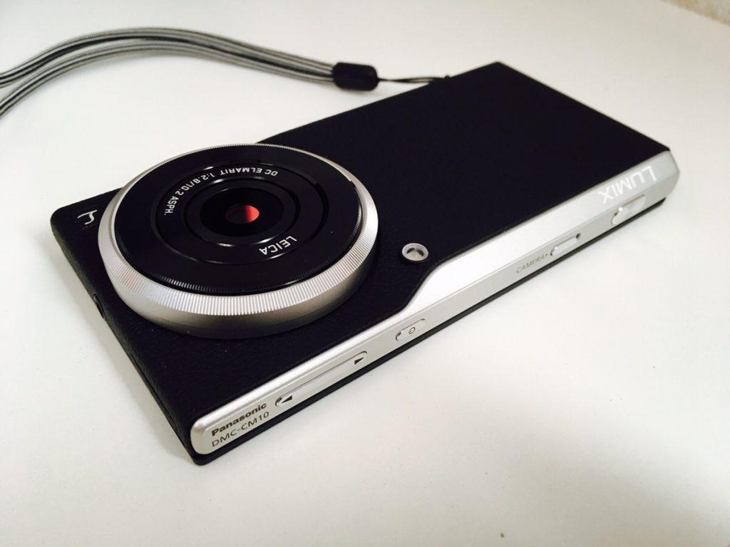 「Panasonic LUMIX DMC-CM10 」購入!Android搭載・データ通信可能。シャープで綺麗な写真を撮影でき、なおかつ、SNSとの連携もスムーズ!