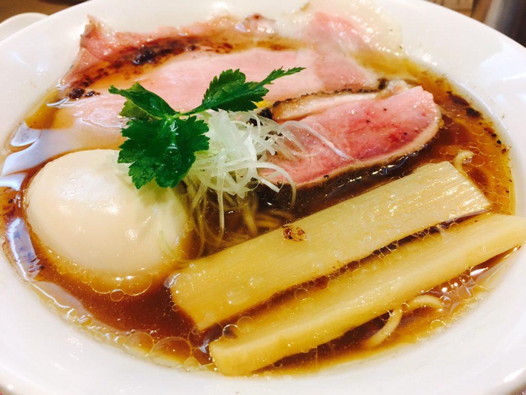 大阪福島の行列ができるラーメン店「燃えよ麺助」の紀州鴨そばが絶品だった!