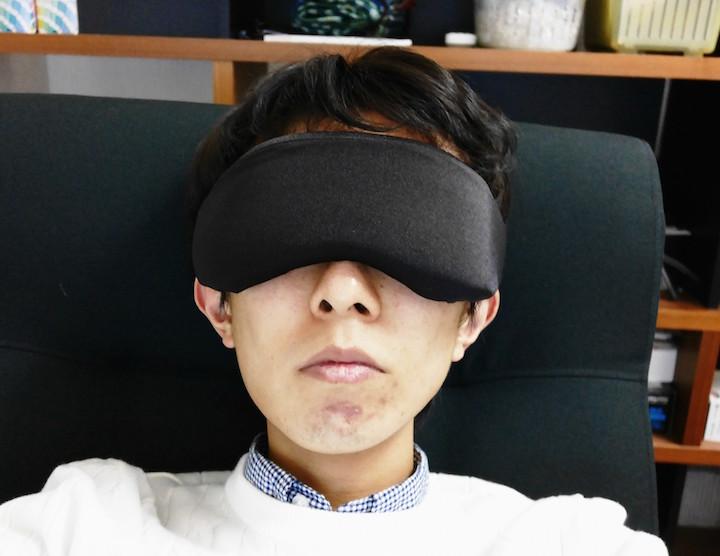 PLEMOミルクファイバー睡眠アイマスクがおすすめすぎる!柔らか素材でつけ心地抜群!光が漏れる心配もなし!