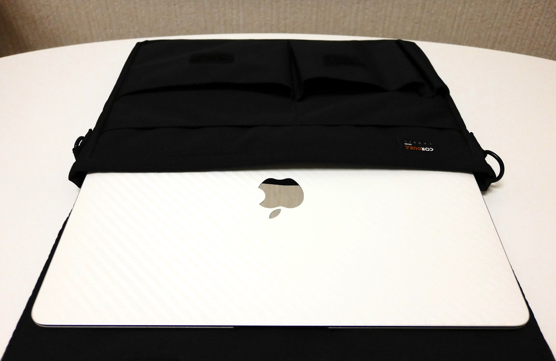12インチ型MacBookがピッタリ入る!