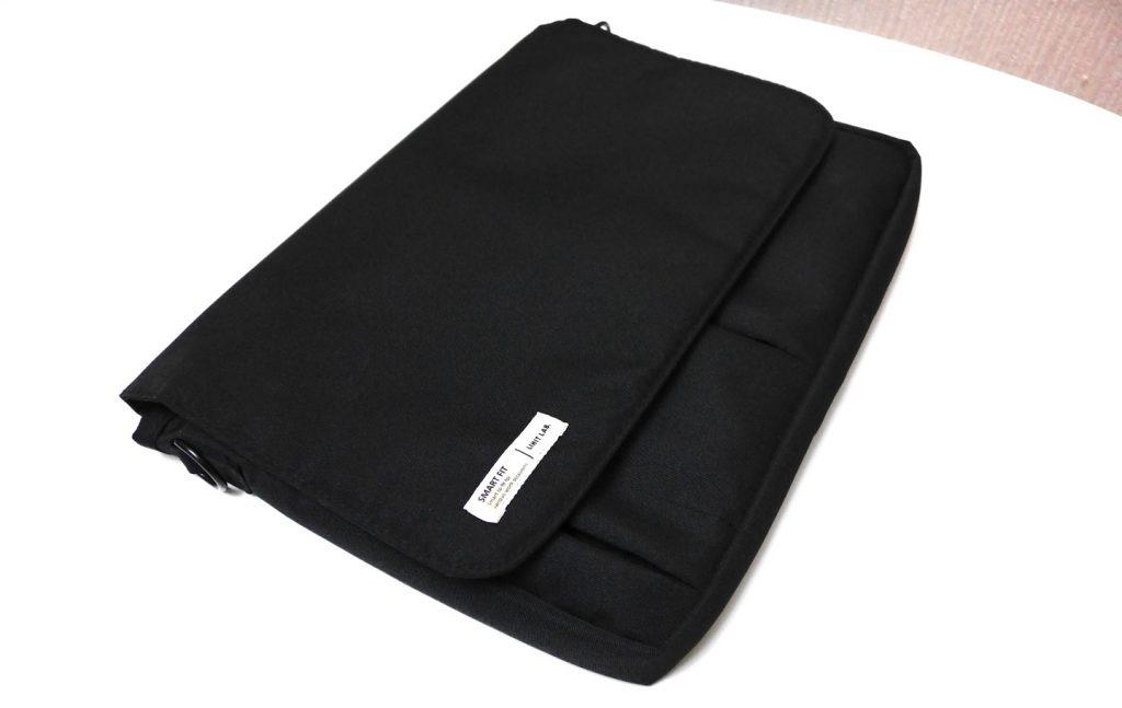 「LIHIT LAB(リヒトラブ)」のバッグインバッグに12インチ型MacBookを入れたらピッタリフィットしすぎて感動すら覚えた件