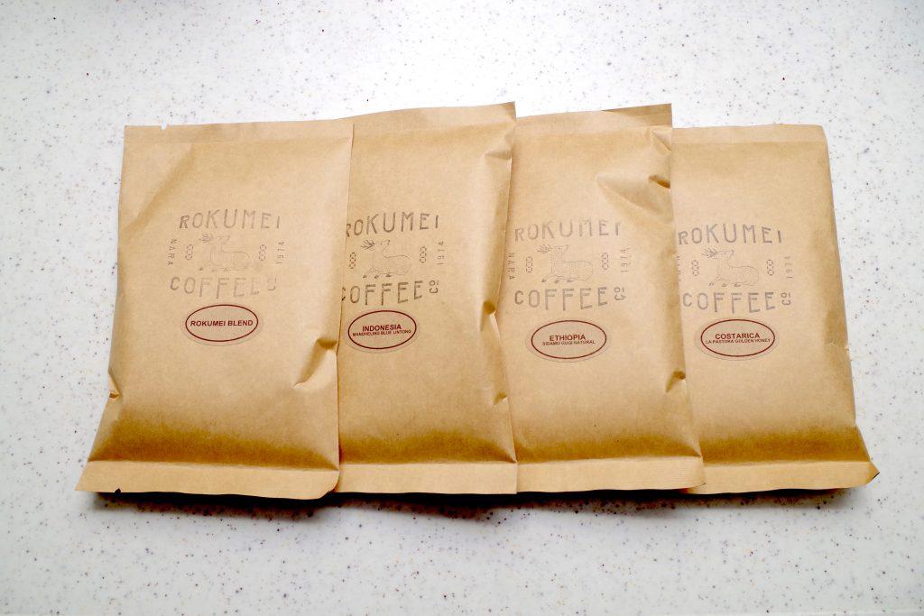 自家焙煎スペシャルティコーヒー専門店「ROKUMEI COFFEE CO.」のお試し飲み比べセットは、素人にもハッキリと違いの感じられるコーヒーだった!