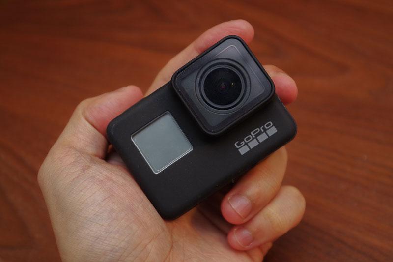 GoPro HERO7 Blackレビュー!日常の何気ない様子の撮影にも使える便利カメラ