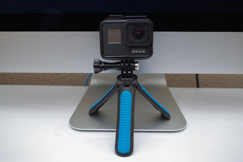 YiLiWit GoPro三脚スタンドは、GoPro HERO7と併せて買っておきたい1人2役の便利アイテム