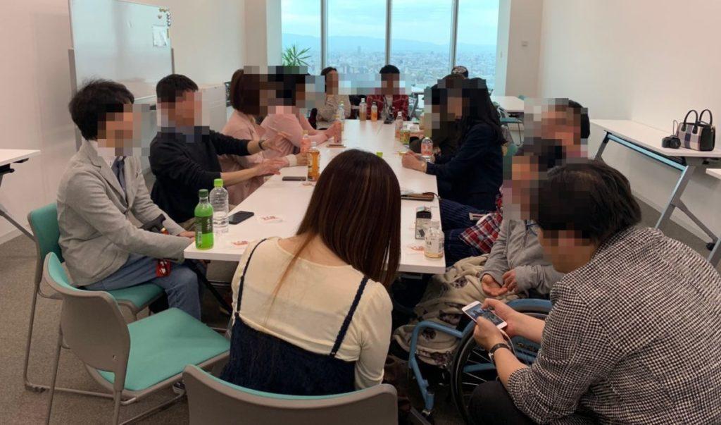 第8回難病カフェ大阪を開催しました!ゴールデンウィークの最中いつも以上の賑やかな集まりに。